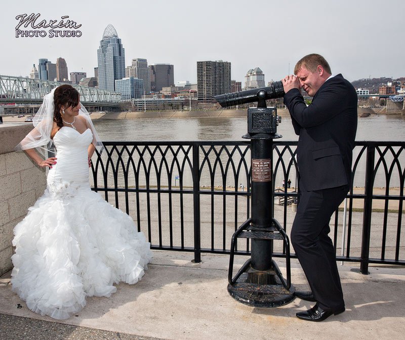 Newport on the Levee Cincinnati Russian Wedding