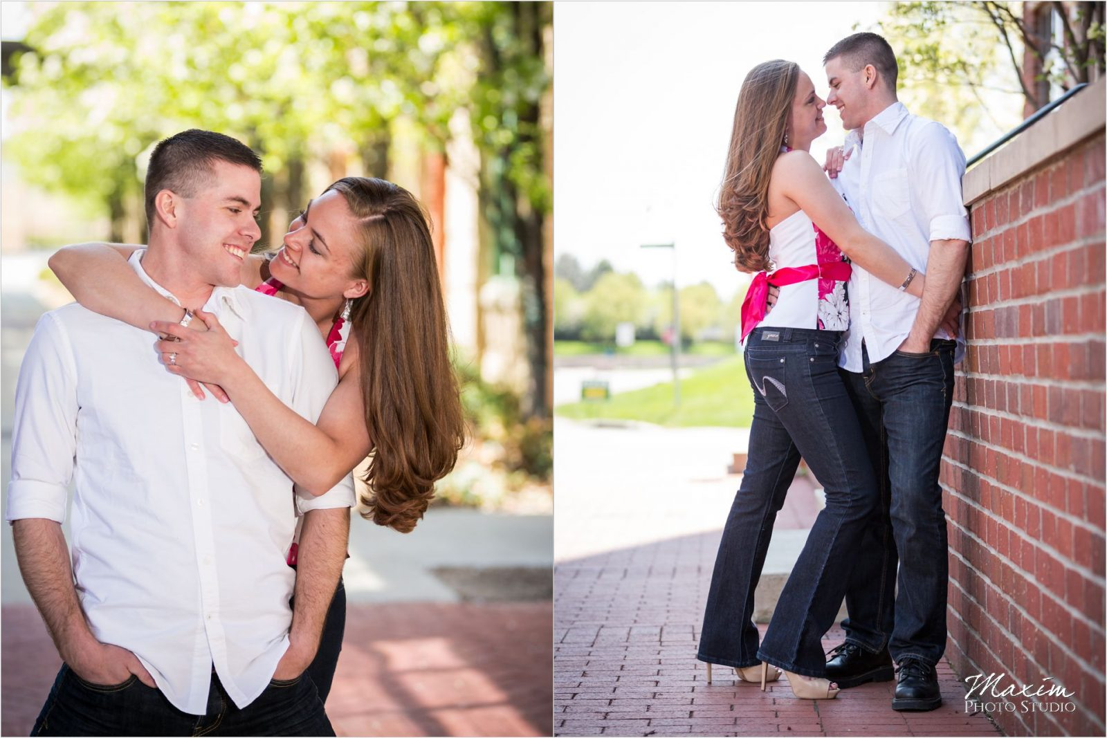 Columbus Engagement Photography, Nationwide Arena Columbus Engagement