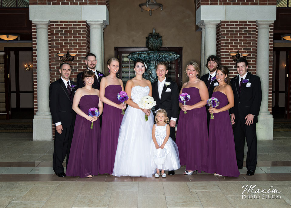 Manor House Wedding Bridal Party