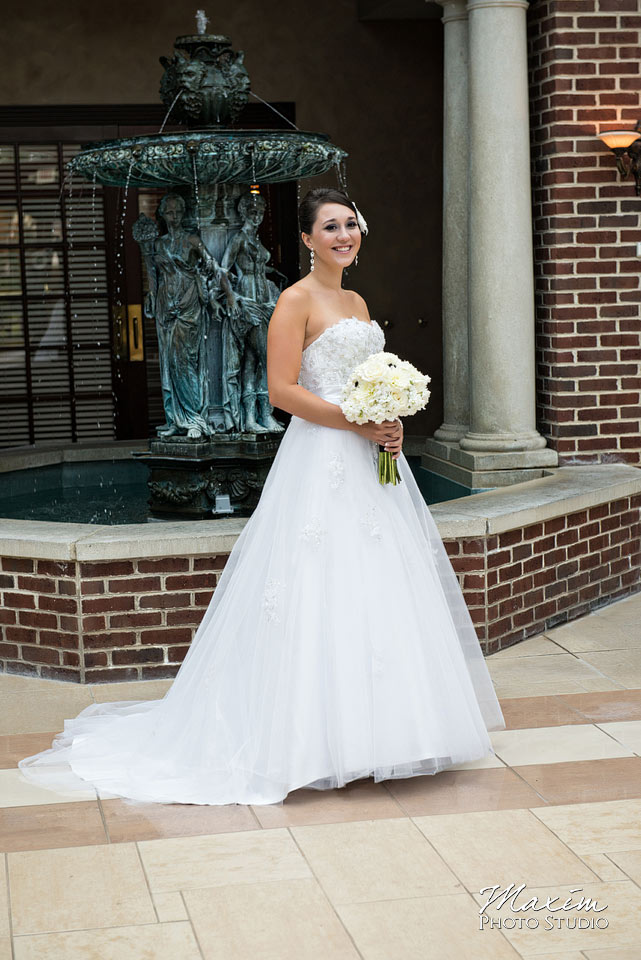 Manor House Ohio Wedding Bride