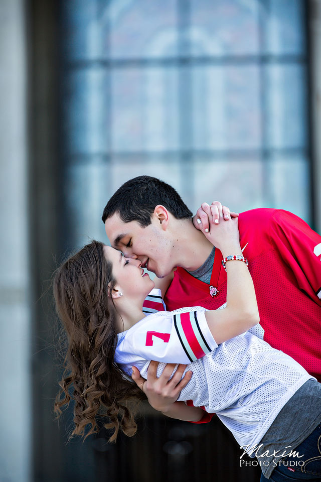 Ohio State University Engagement at Horseshoe