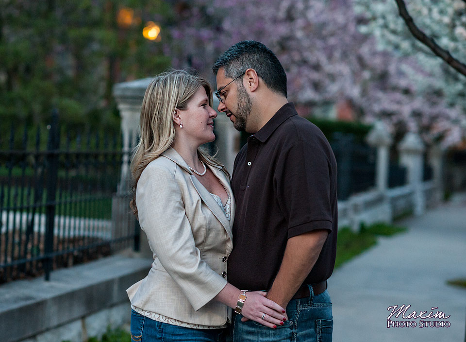 Off Camer Flash, cincinnati engagement