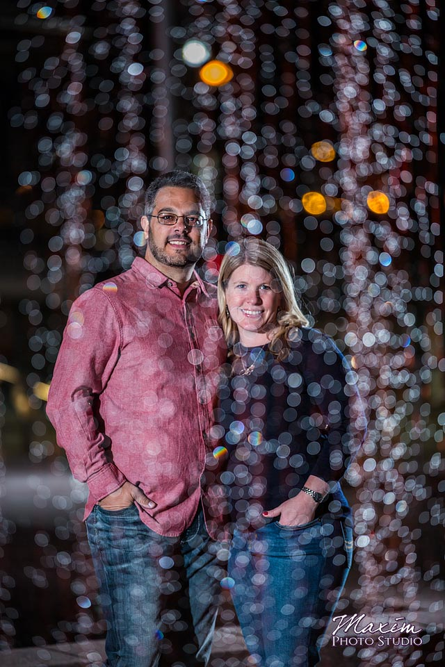 Smale Riverfront Park fountain engagement