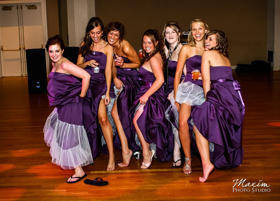 Bridesmaids at Music Hall Cincinnati