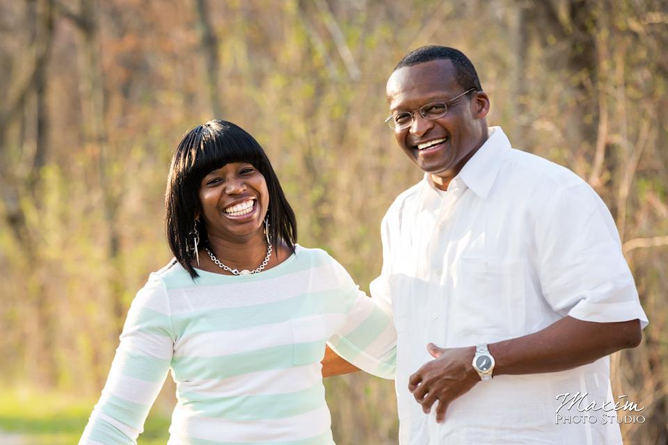 Cox Arboretum Engagement picture