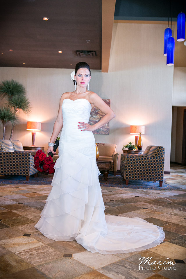 cincinnati bride at chart house