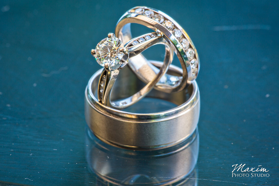 Taylor Mansion Columbus Ohio Wedding rings