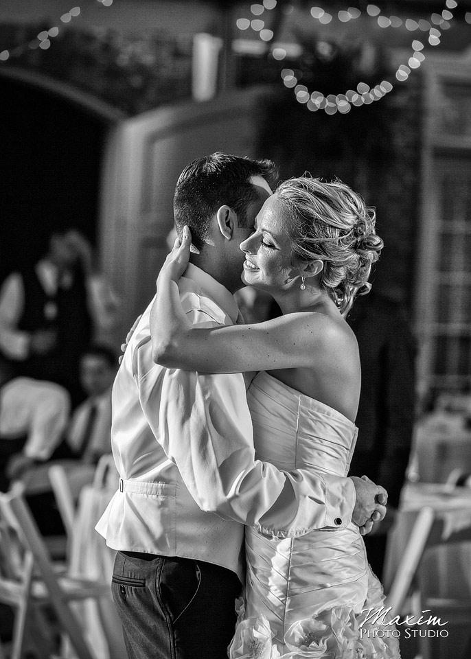 Taylor Mansion Columbus Ohio Wedding reception dance
