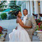 Manor House Ohio wedding bride groom
