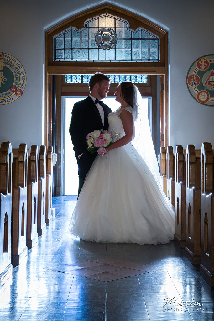 st aloysius chapel cincinnati wedding photo