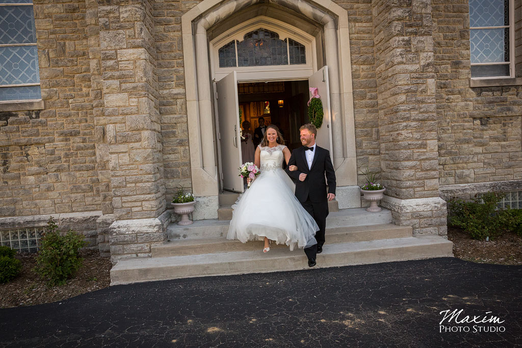 st. aloysius chapel cincinnati wedding