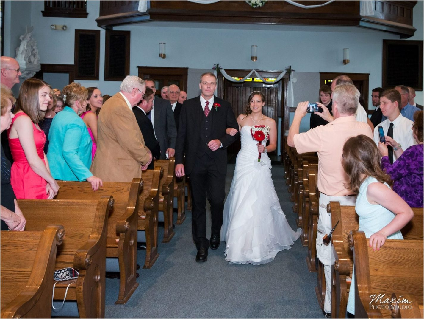 St. James Miamisburg Wedding