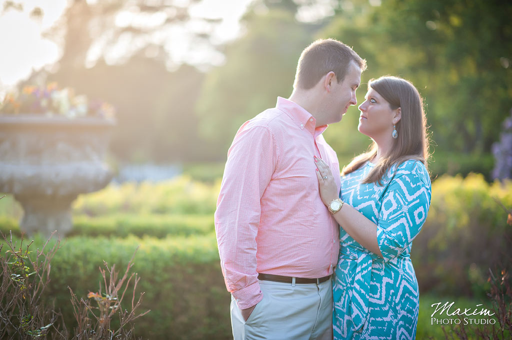 ault park engagement pictures