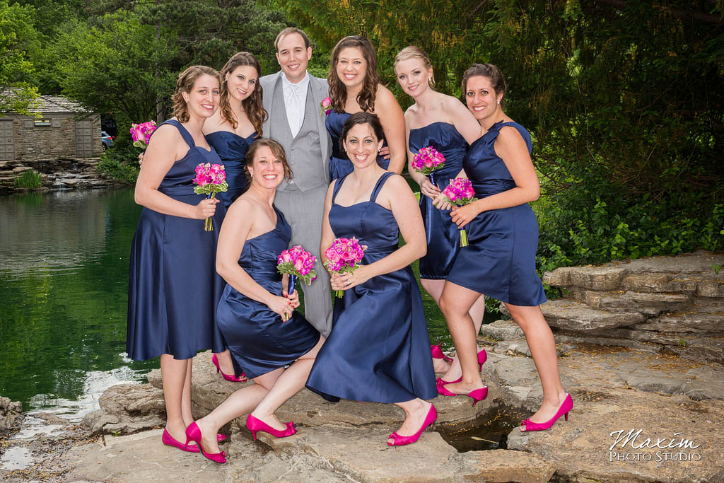 Cincinnati wedding photographers Eden Park pictures