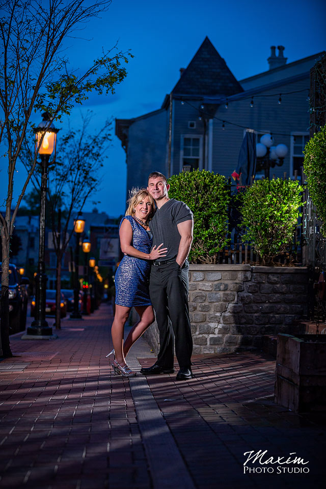 mount adams cincinnati engagement photos
