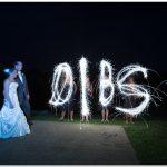 Pebble Creek Golf Club Wedding sparklers