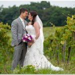 Chateau Pomije Winery Wedding couple