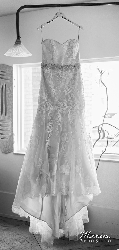 Chateau Pomije wedding Dress