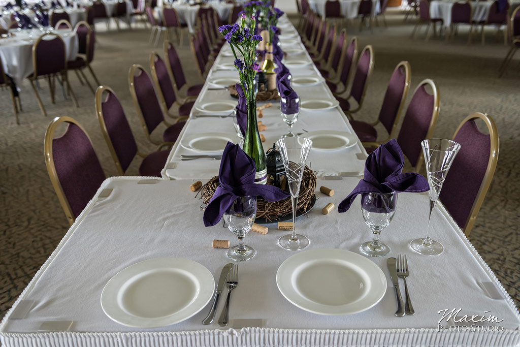 Chateau Pomije winery wedding reception