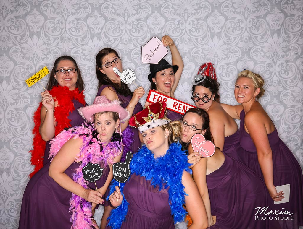 Chateau Pomije winery cincinnati ohio Photobooth photo