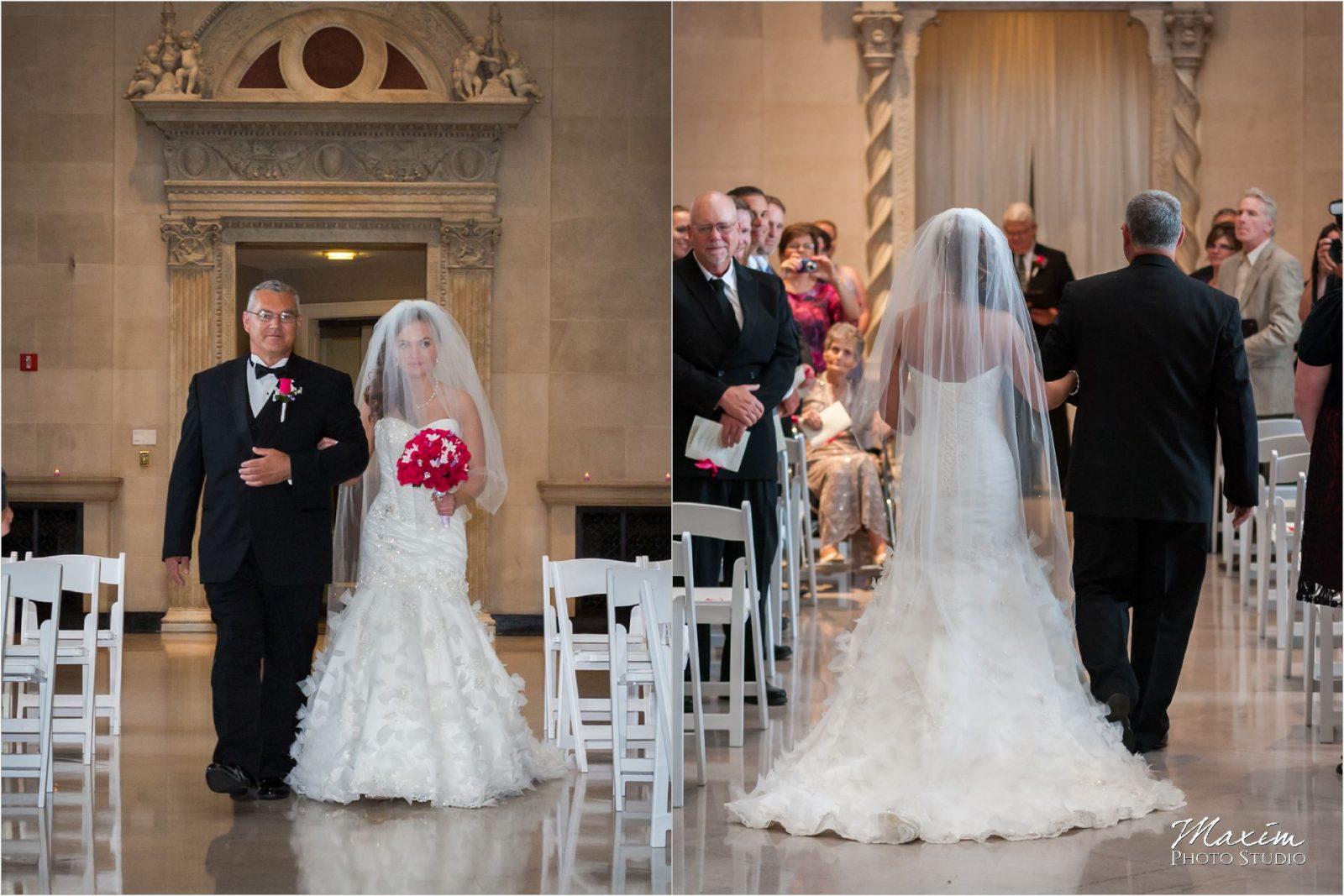 Dayton Art Institute Wedding Ceremony