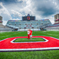 Ohio stadium columbus engagement pictures