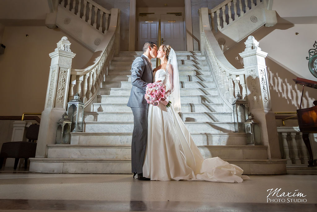 The Phoenix Cincinnati Wedding Portraits