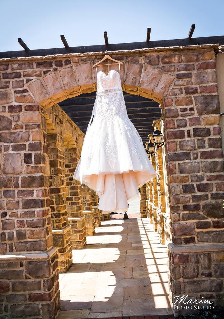 Pinnacle Golf Club Wedding Dress