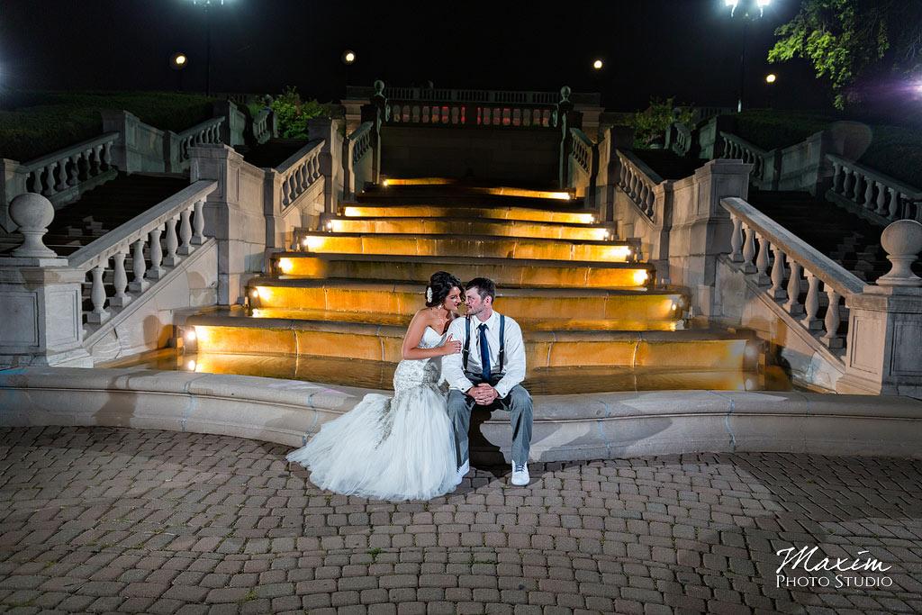 Ault park cincinnati wedding ashley matt