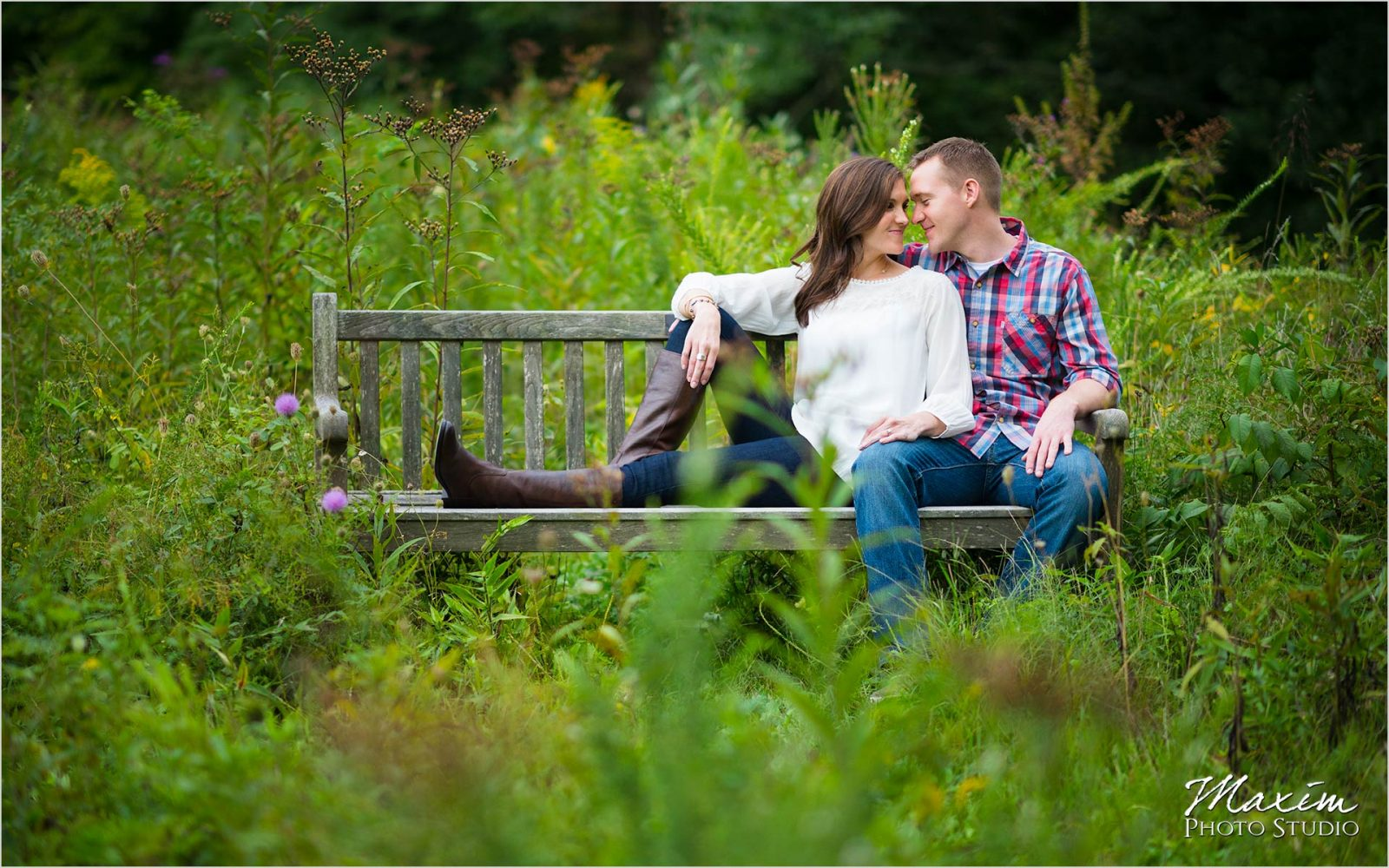 Cincinnati Wedding Photographer Nature Center Engagement