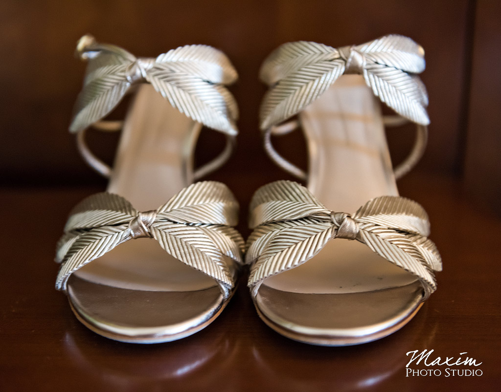 Cincinnati Music Wedding Shoes