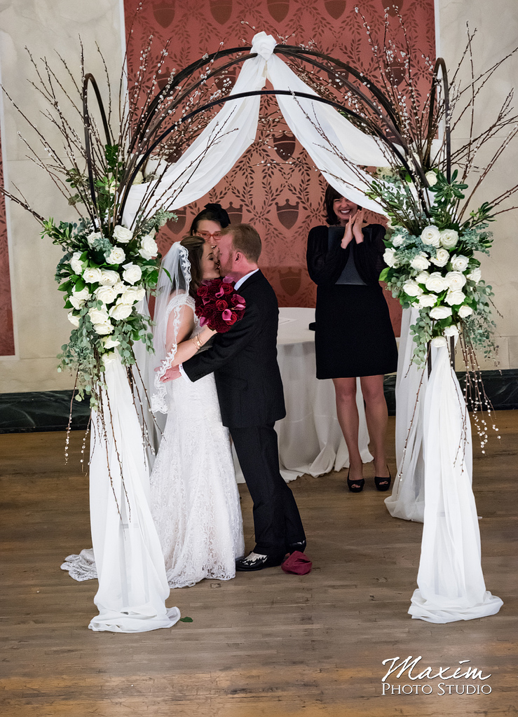 Music Hall Jewish Wedding Ceremony