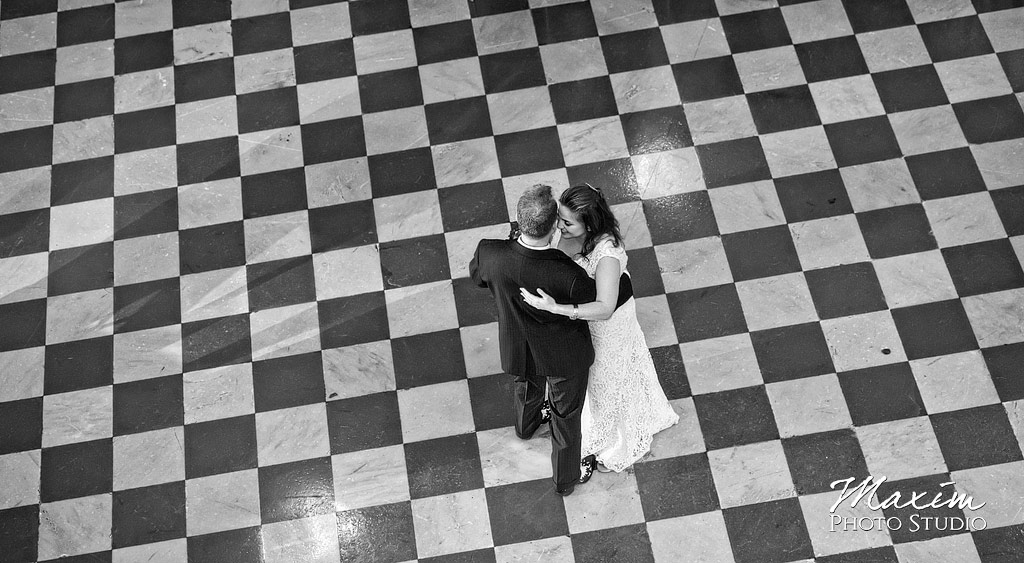 Cincinnati Music Hall Wedding Reception dance