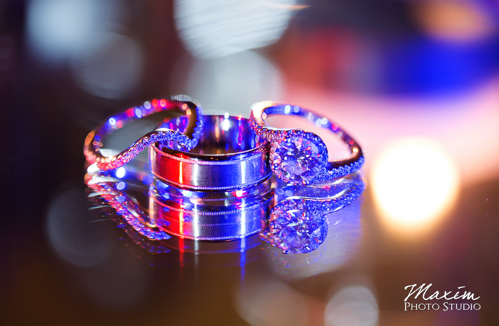 Music Hall Wedding Rings
