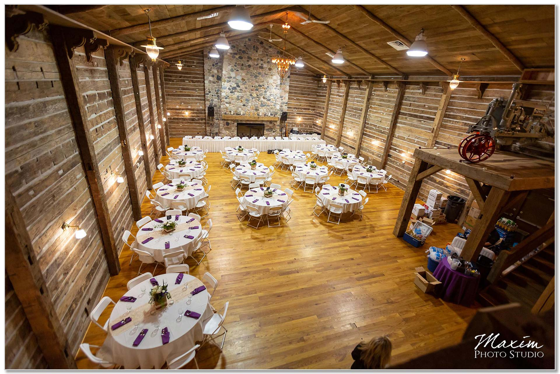 Clear Lake Kusota Island wedding Reception