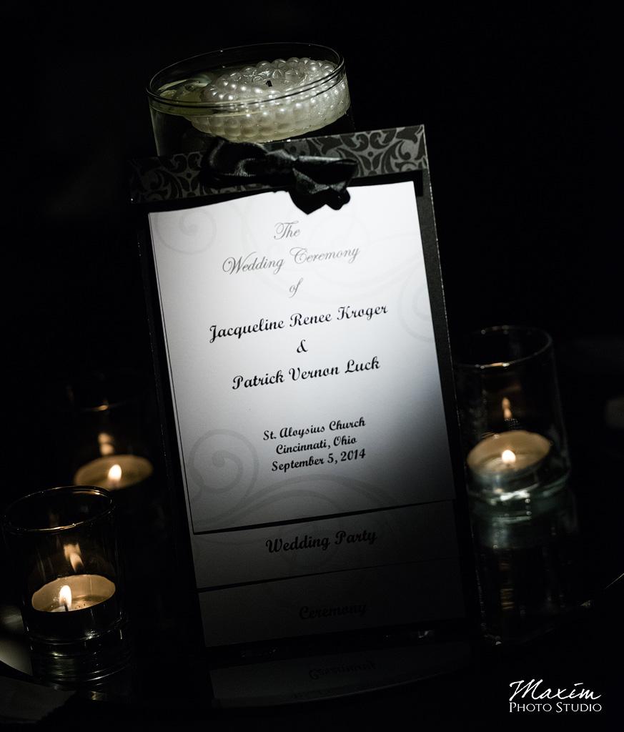 Newport Syndicate Wedding Program