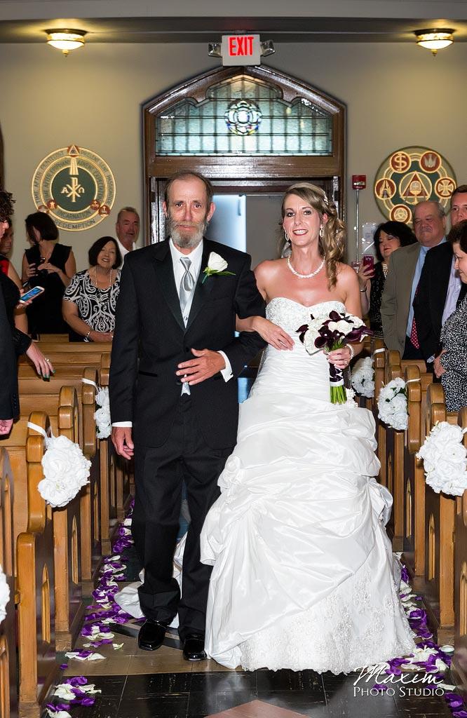 St. Aloysius Chapel Wedding Ceremony