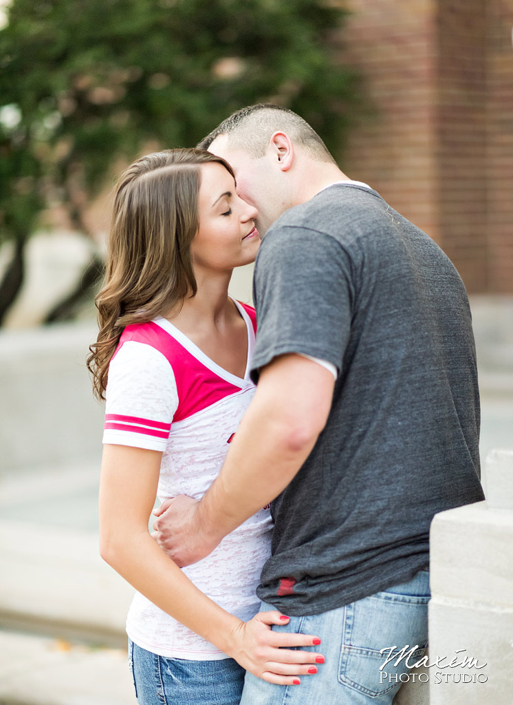 University of Cincinnati Engagement Photography
