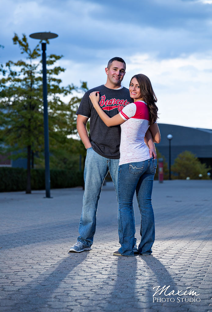 University of Cincinnati Engagement Photographers