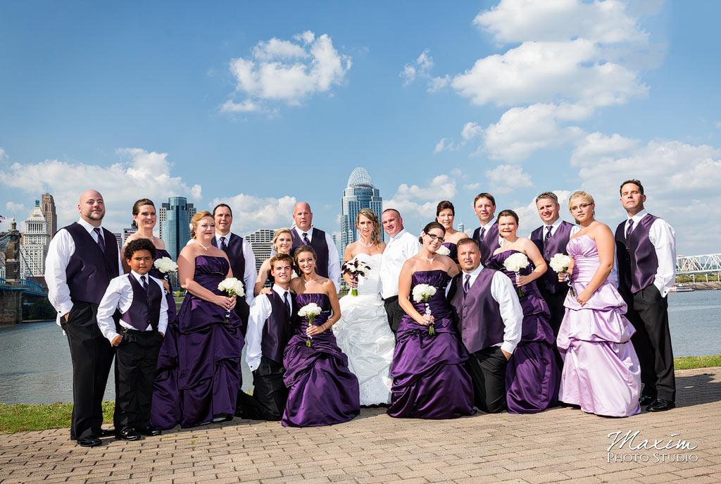 Riverside Drive Covington Bridal Party
