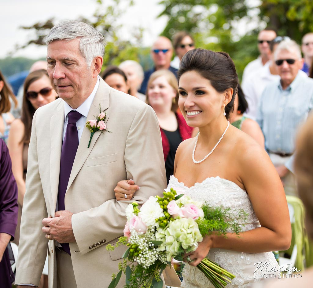 Kasota Island Clear Lake Wedding ceremony