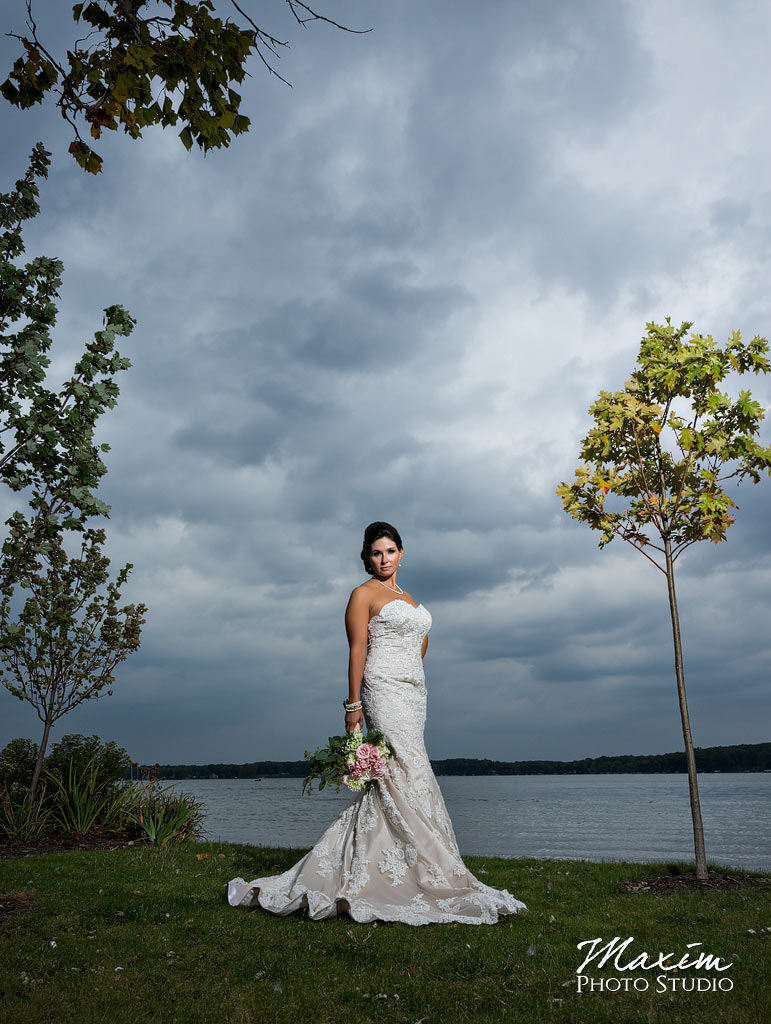 Kasota Island Clear Lake Indiana Wedding