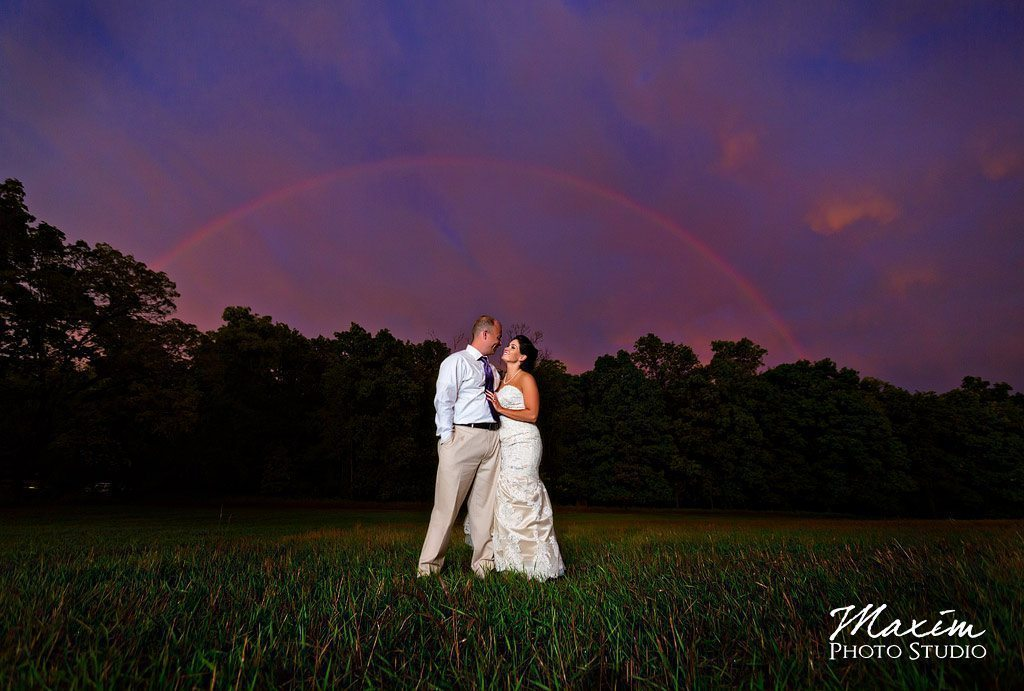 Wedding rainbow Cincinnati Wedding Photographers
