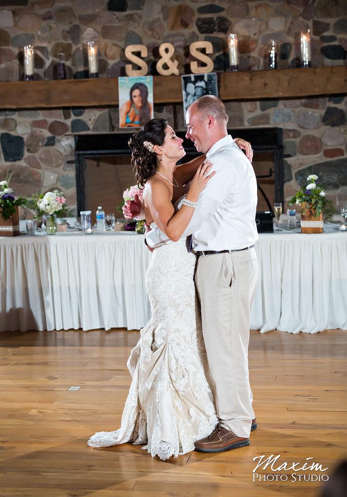 Heritage Bank Freemont Indiana Wedding Reception