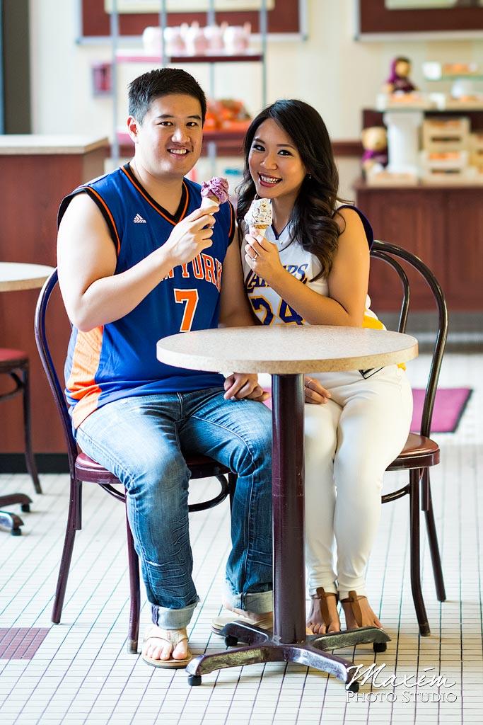 Graeters Ice Cream Cincinnati Engagement
