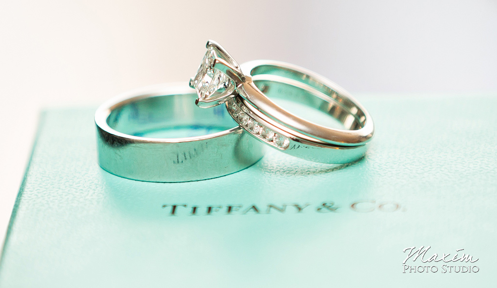 Tiffany rings ohio wedding