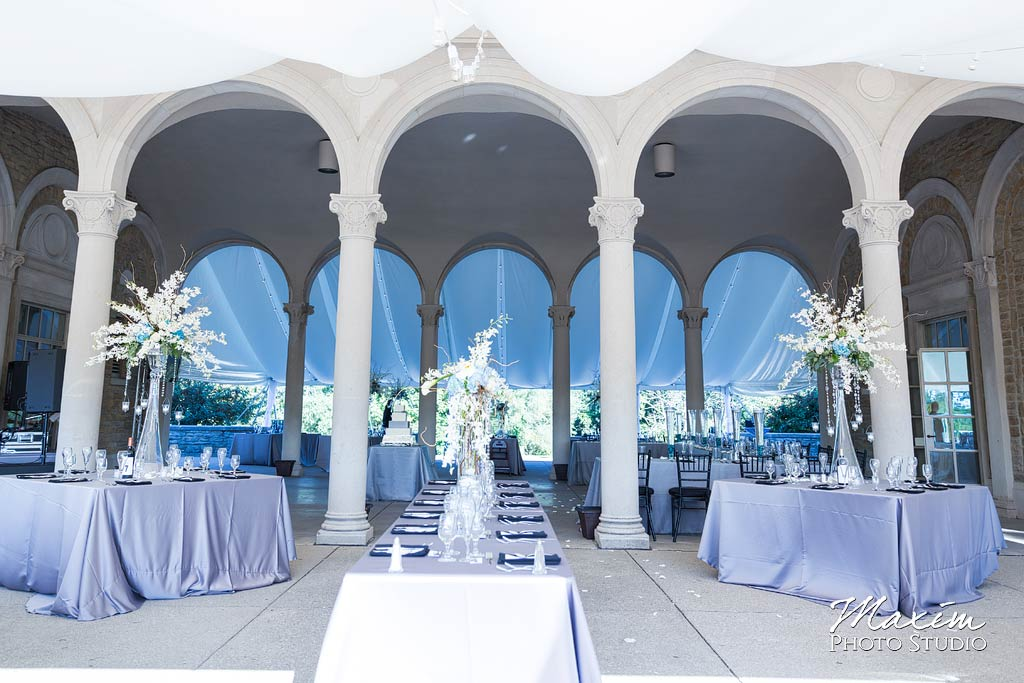 Ault Park tent Draping