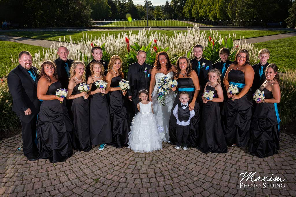 Ault Park Cincinnati Wedding Party