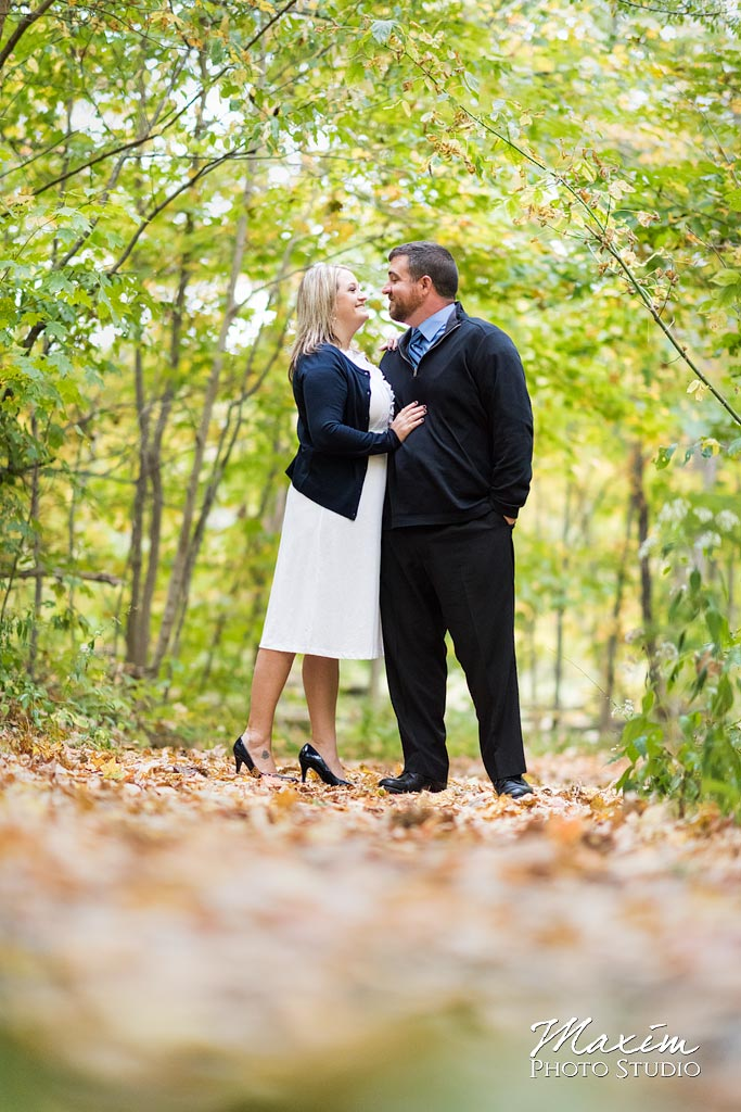 Cincinnati Nature Center Engagement couple