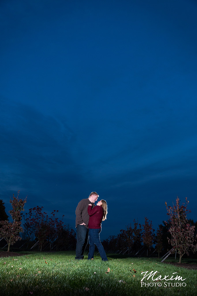 Engagement Photos at Cox Arboretum